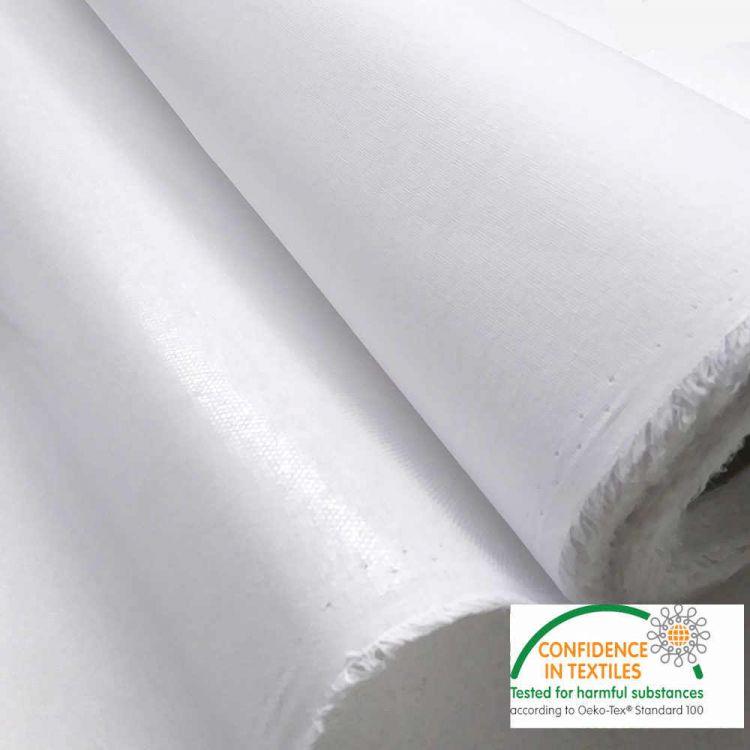 Entoilage thermocollant rigide blanc