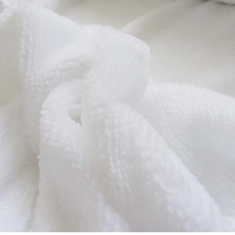 Tissu peluche bambou