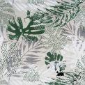 Tissu enduit JUNGLE vert