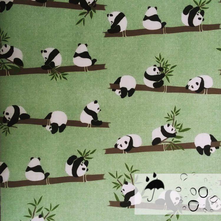Coton 100% enduit fluide Panda