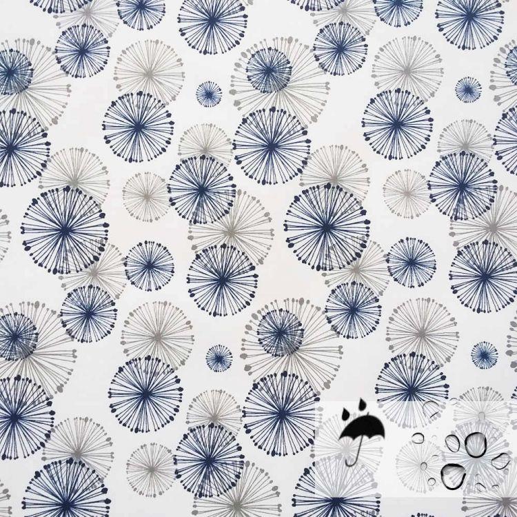 Coton 100% enduit fluide cercles