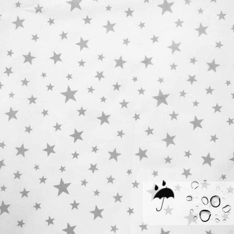 Coton 100% enduit fluide étoiles