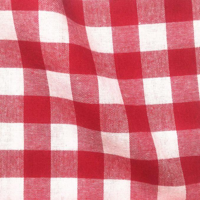 Tissu vichy gros carreaux