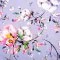 Toile d'extérieur panier floral