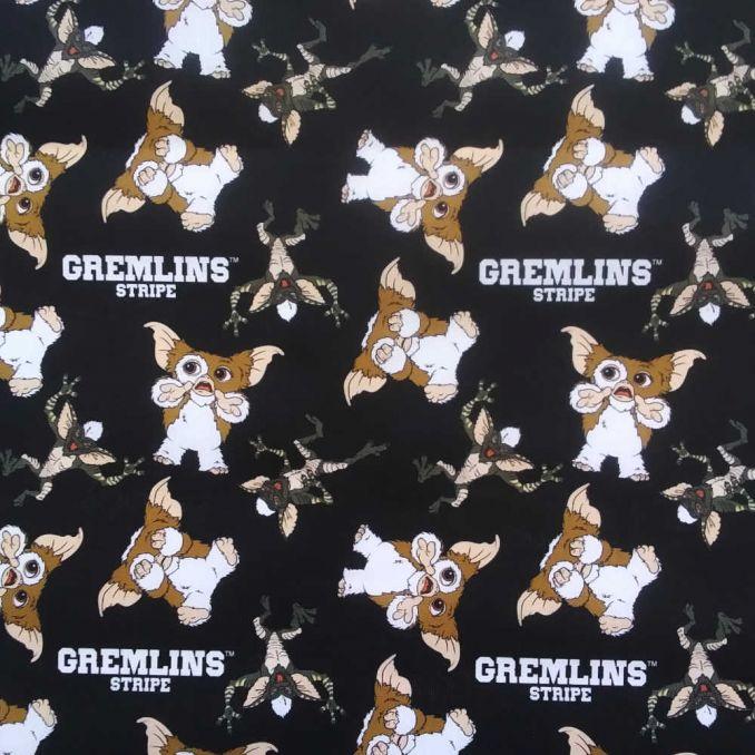 Coton imprimé GREMLINS
