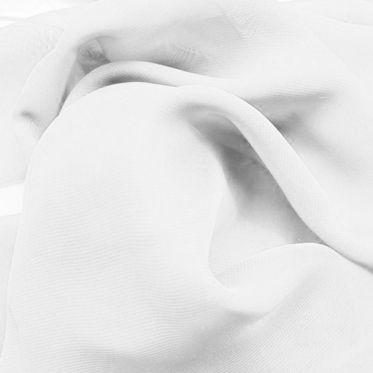 Mousseline blanche au mètre