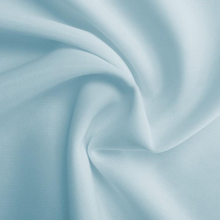 Doublure jersey bleu ciel au mètre
