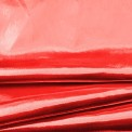 Tissu lamé rouge au mètre