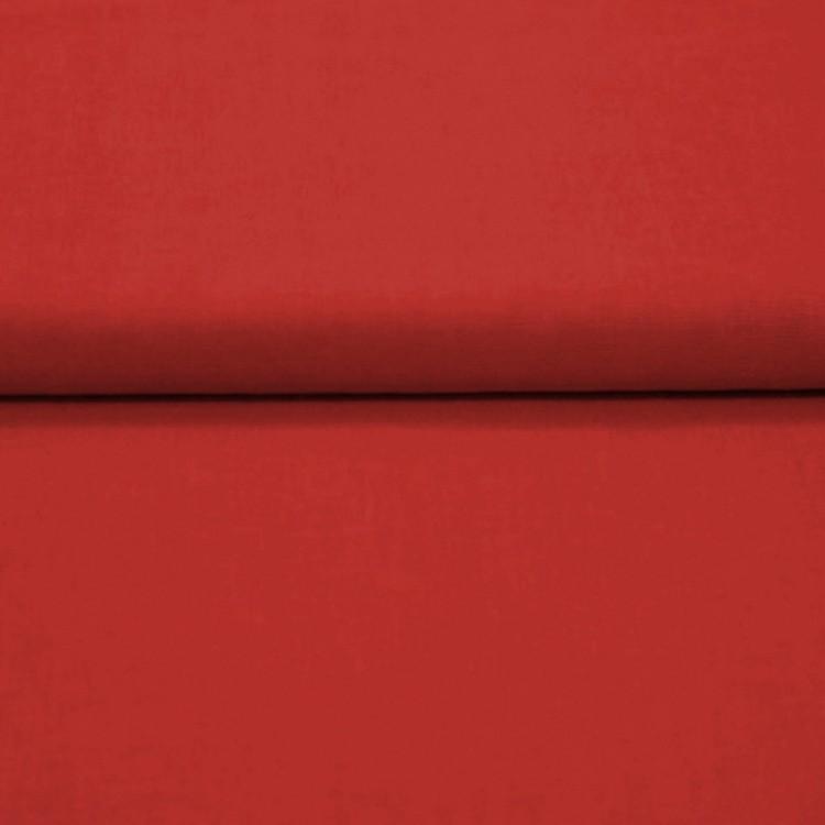 Tissu coton rouge au mètre
