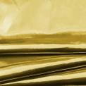 Tissu lamé or au rouleau