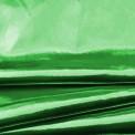 Tissu lamé vert au rouleau