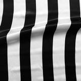 rayures blanc noir
